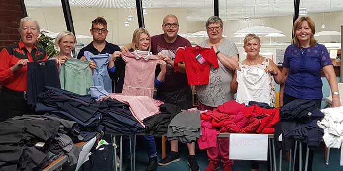 Redditch Labour Party's Annual Uniform Bank.